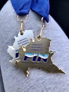 RN Legnano oro e argento Campionati regionali