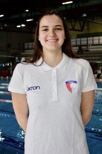 Aurora Mazza allenatrice nuoto sincronizzato RN Legnano