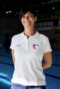 Cinzia Storni allenatrice nuoto sincronizzato RN Legnano