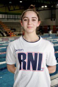 Cleofe Bonavia aiuto allenatrice nuoto sincronizzato RN Legnano