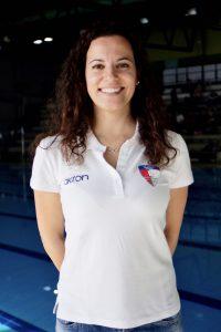 Costanza Fiorentini allenatrice nuoto sincronizzato RN Legnano
