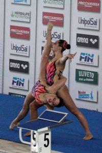 Rn Legnano doppio nuoto sincronizzato Giulia Pavan-Sara Rossetti